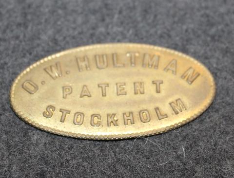 O.W. Hultman patent Stockman