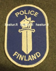 Finnish UN Police, arm patch.