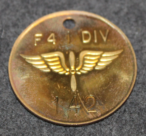 F4 1 Div, Kungl. Jämtlands Flygflottilj. Ruotsin ilmavoimien lennosto.