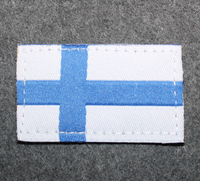 Finnish Army flag. Patch, velcro. M/05