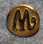Marabou, chocolate manufacturer, 11mm gilt