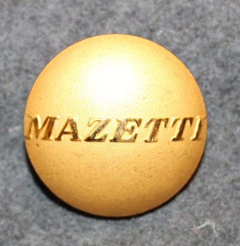 Mazetti AB Malmö Choklad- och Konfektfabriksaktiebolag, suklaatehdas. 25mm kullattu