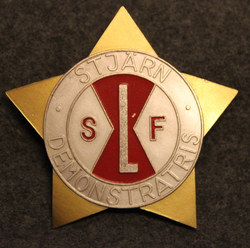 SLF, Stjärn Demonstratris, Stockholms Livsmedelshandlareförening, ammattiliitto