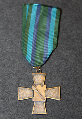 National Defence Guild, Silver cross of merit.