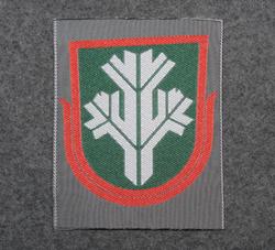 Finnish sleeve patch, sissi ( guereilla, reconnaissance )