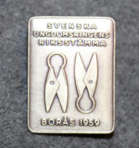 Svenska Ungdomsringens Riksstämma, Borås 1959. Nuorisoseurojen kokoontuminen