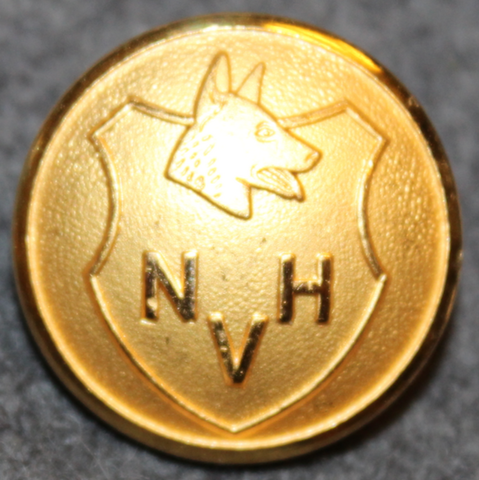 Nordisk Vakthundstjänst. K-9 security. 23mm gilt