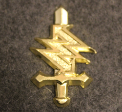 Central Communications & Electronics test and repair depot, Finnish army, shoulder insignia.