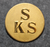 SKS, Stockholms kapplöpningssällskap, Laukkahevosliitto. 24mm kullattu