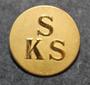 SKS, Stockholms kapplöpningssällskap, Thoroughbred horse racing society, 24mm gilt