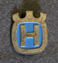 Husqvarna, logo, cap badge.