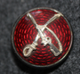Danish cavalry M/1915 button / cockade. Seifert