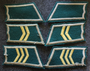 Finnish Army WW2, collar tabs. Infantry