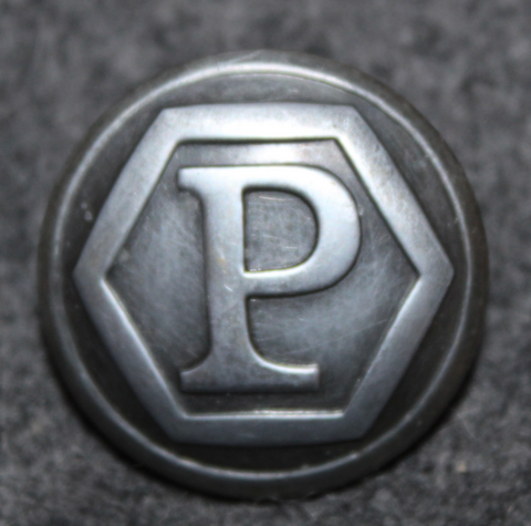 Slovakian Police, uniform button. 25mm / 15mm