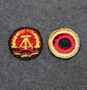 German forage cap roundels.
