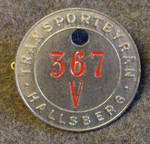 Kungliga Krigsmaterialverket, Transportbyrån. Royal swedish warmaterial administration, trasportation office. Various stamps.