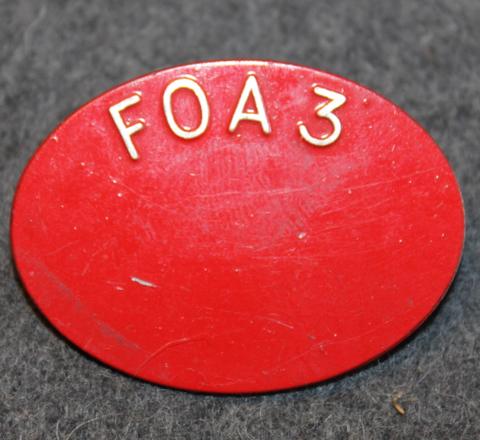Försvarets fabriksverk FOA3. Ruotsin armeijan materiaalilaitos.