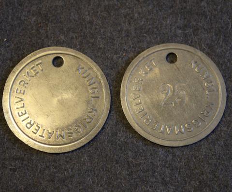 Kungliga Krigsmaterialverket, Ruotsin armeijan materiaalilaitos