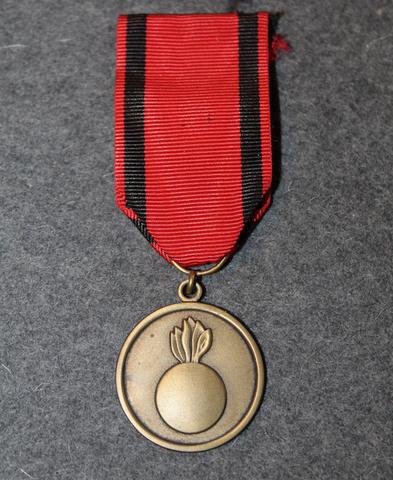 Artilleryman medal. ( Väinö Valve )