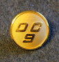 Douglas DC-9, SAS crew button. 20mm