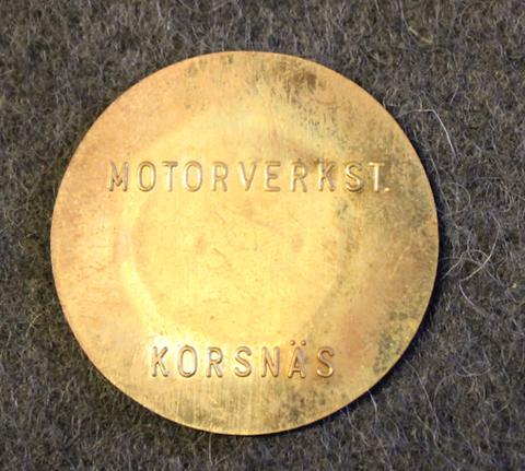 Stora Kopparbergs Bergslags AB, Motorverkst. Korsnäs
