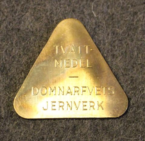 Stora Kopparbergs Bergslags AB, Domnarfvets jernverk. Tvätt-medel.