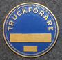 Truckförare. Fork lift operator. 40mm blank.