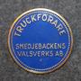 Truckförare, Smedjebackens Valsverks AB. Fork lift operator. 40mm