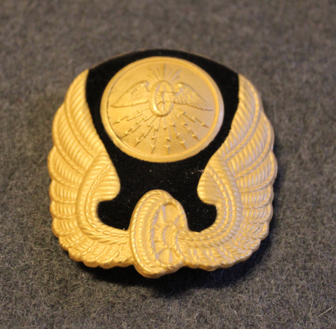 Storstockholms Lokaltrafik, Train conductors cap badge.