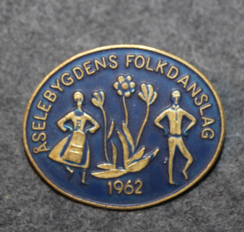 Åselebygdens Folkdanslag 1962, Intenational folkdance festival.