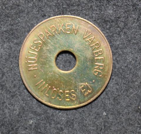 Nöjesparken Varberg, Inlöses Ej. Amusement park coin