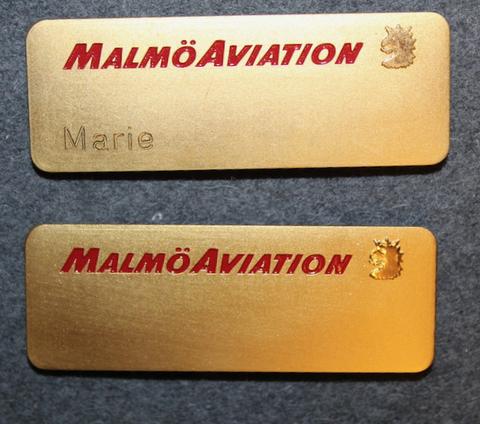 Malmö Aviation, lentoyhtiö