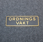 Ordningsvakt, security.  LAST IN STOCK