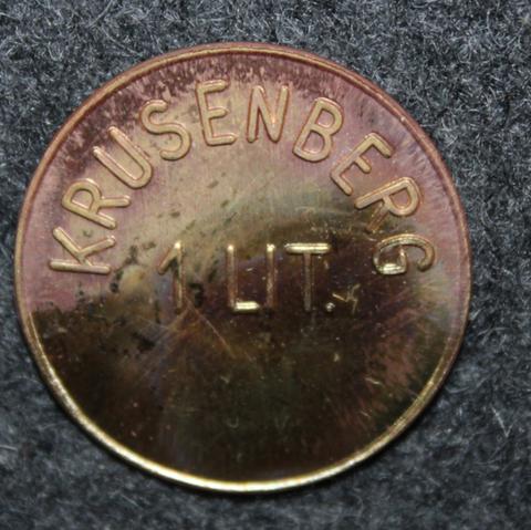 Krusenbergs Säteri 1 LIT. Rälssitalon maitoraha