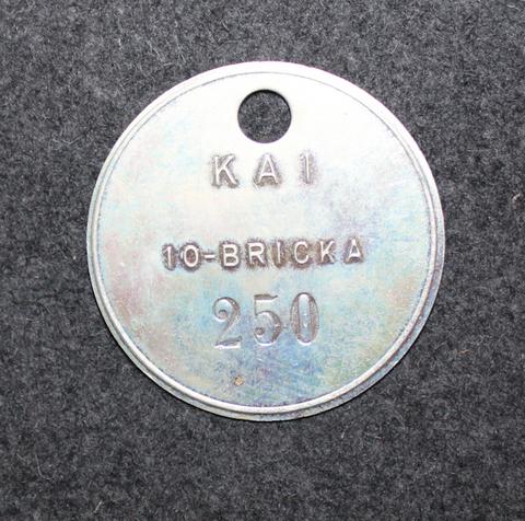 KA1 10-bricka, 250. Coastal artillery.