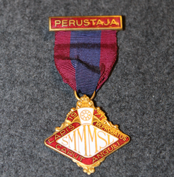 Finnish Grand Lodge of Mark Master Masons, Founders medal 1971