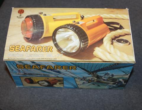 Seafarer Marine Lantern ML-77, taskulamppu, käyttämätön.