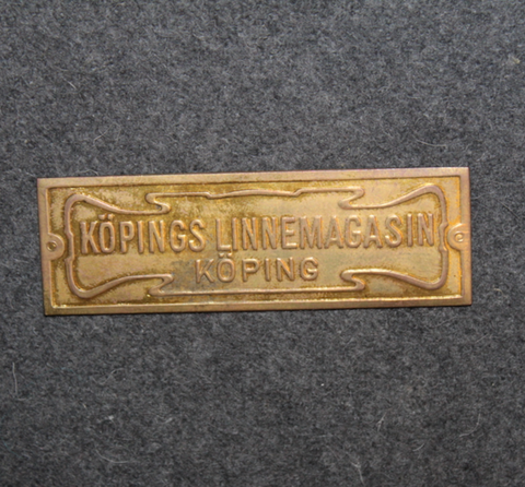 Köpings linnemagasin, köping.