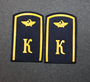 Aeroflot / CCCP Civil aviation shoulder boards. K
