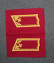Finnish Army, Generals Collar tabs, GHQ, unissued.