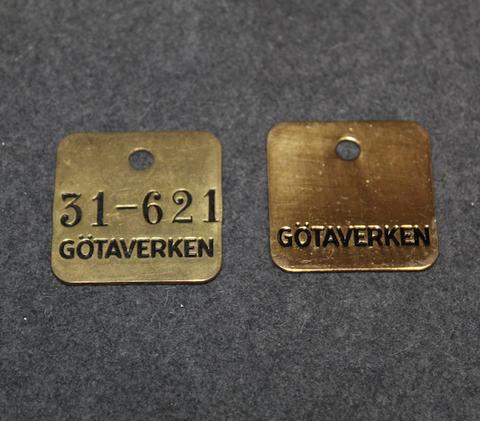 Götaverken AB, Göteborg 36x36mm