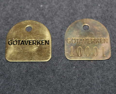 Götaverken AB, Göteborg , round/square