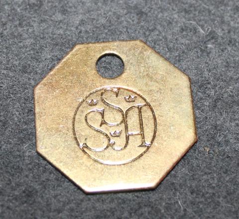SSA, Svenska Sockerfabriks Ab. Sugar manufacturer. Octagon