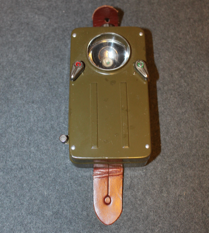 Gepe flashlight, swedish army, unissued.