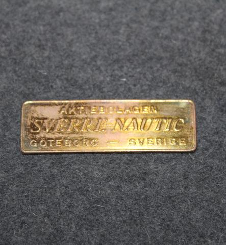 Aktiebolaget Sverre-Nautik Göteborg