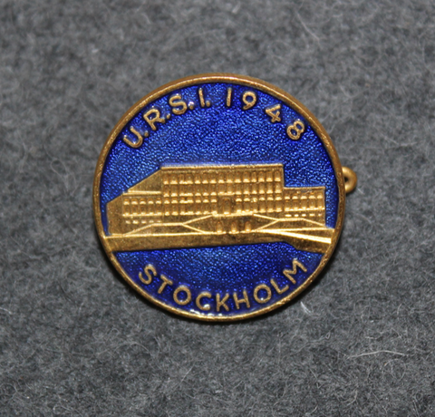 U.R.S.I 1948, Stockholm = The International Union of Radio Science / Union Radio-Scientifique Internationale