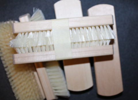 Finnish army clothes brush, 1980´s unissued.