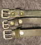 Finnish army utility strap, 300x20mm, sturdy, leather.