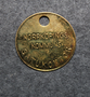Norrköpings kommus Gatukontoret. Parking token.  LAST IN STOCK