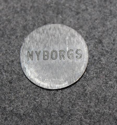 Ab Nyborgs Yllefabrik, Norrköping. Wool factory